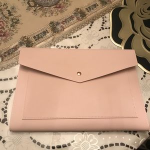 Handbags - Blush Pink Clutch by Glass Ladder